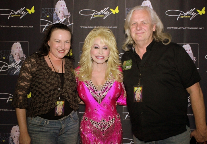 Dolly Parton at Rod Laver Arena